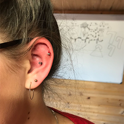 piercing helix conch